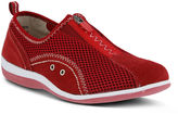 Spring Step Womens Racer Slip-On Zip Shoes