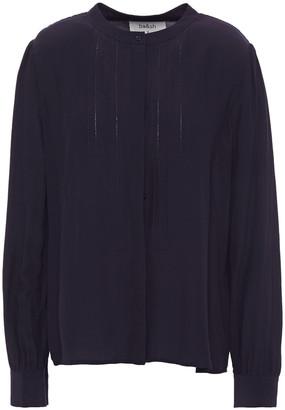 BA&SH Embroidered Crepe Shirt