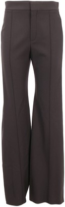 Chloé High Waisted Flared Trousers