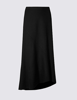 Long Black A Line Skirt - ShopStyle UK