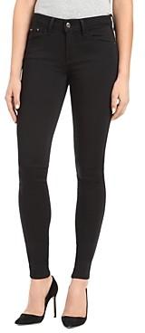 Mavi Jeans Adriana Side Stripe Ankle Skinny Jeans in Black