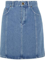 Chloé Denim Mini Skirt - Mid denim