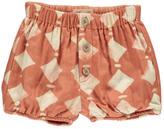 Sale - Diamond Shorts Rust - Rylee + Cru
