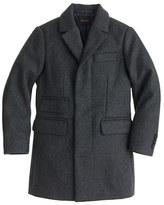 J.Crew Boys' wool topcoat
