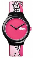 Lacoste Unisex 2020115 Goa Analog Display Japanese Quartz Pink Watch