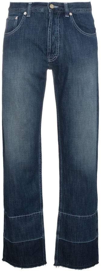 Loewe phone embroidered jeans