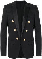 Balmain military blazer - men - Cotton/Polyurethane - 48