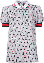 The Upside Witch Mountain Becker polo top