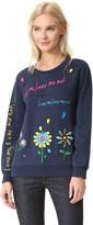 Mira Mikati Love Me Embroidered Sweatshirt