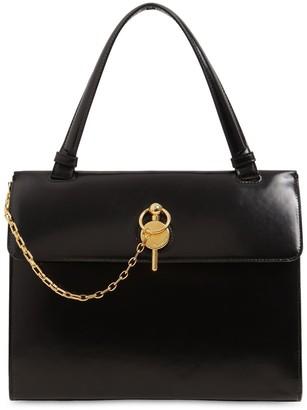 J.W.Anderson Lady Keyts Brushed Leather Shoulder Bag