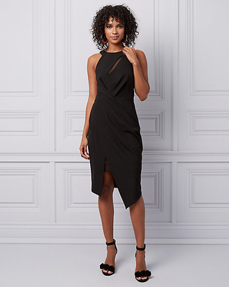 Le Château Halter Asymmetric Cocktail Dress