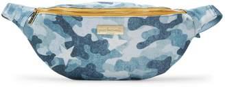 Peace Love World Camouflage Cotton Belt Bag