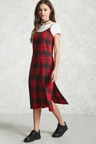 Forever 21 Contemporary Plaid Cami Dress