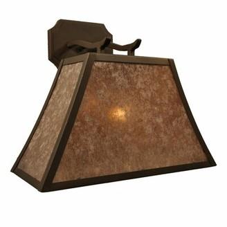 Steel Partners Summit 1-Light Outdoor Wall Lantern