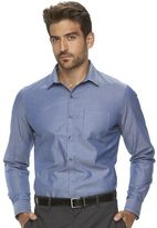 Marc Anthony Men's Slim-Fit Striped Textured Stretch Button-Down Shirt