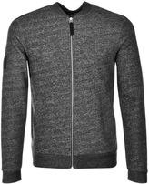 Pretty Green Ranford Full Zip Sweatshirt Black