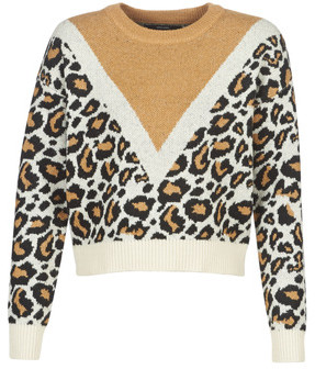 Vero Moda VMLEON women's Sweater in Beige