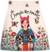 Gucci Unskilled Worker mini skirt