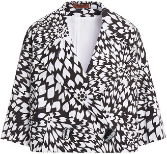 Missoni Cropped Printed Cotton-poplin Jacket