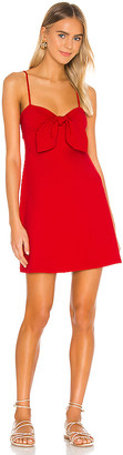 Susana Monaco Thin Strap Tie Front Dress