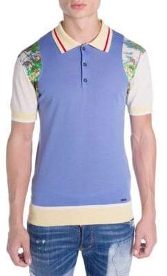 DSQUARED2 Main Hawaiian Polo Shirt