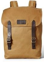 Filson Men's 'Ranger' Canvas Backpack - Black