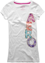 Aeropostale V-Neck Aero Graphic T