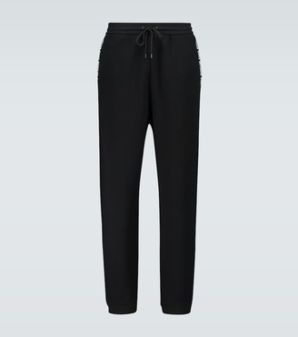 MONCLER GENIUS 7 MONCLER FRAGMENT cotton trackpants