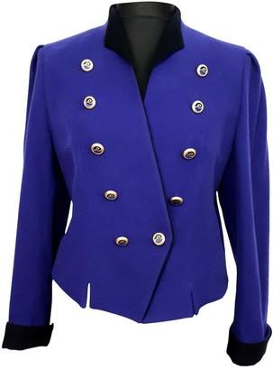 Basler Purple Wool Jacket for Women Vintage