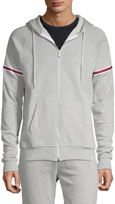 Sovereign Code Zip-Front Cotton-Blend Hoodie