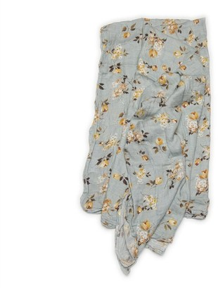 Loulou Lollipop Muslin Swaddle - Wild Rose