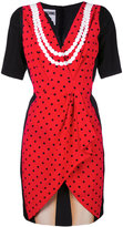 Moschino illusion print dress - women - Silk - 40