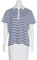 Nike Striped Polo Top