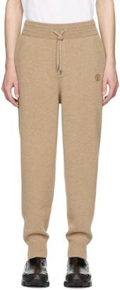 Burberry Beige Cashmere Huntley Lounge Pants