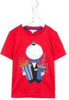 Little Marc Jacobs popcorn print T-shirt