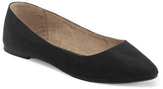 Old Navy Faux-Suede Pointy Ballet Flats for Women