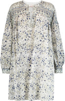 See by Chloe Printed cotton-voile mini dress