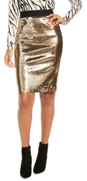 Thalia Sodi Sequined Skirt, Created for Macy's