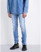 Fear Of God Zipped-cuffs slim-fit skinny jeans
