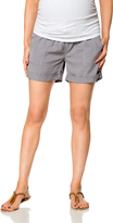 A Pea in the Pod Pull On Style Drawstring Maternity Shorts