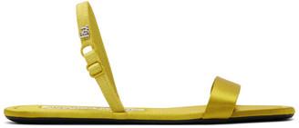 Alexander Wang Yellow Foldable Ryder Sandals