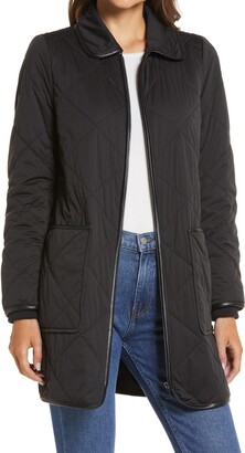 Halogen Quilted Barn Coat