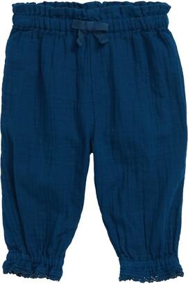 Oliver & Rain Crinkle Cotton Pants