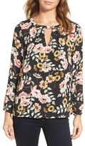 Cupcakes And Cashmere Women's Jupiter Floral Top