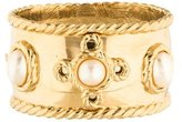 Givenchy Faux Pearl Hinged Bracelet