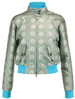 RED Valentino Metallic Jacquard Jacket