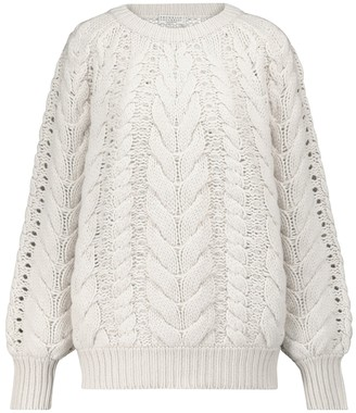 Brunello Cucinelli Cable-knit cashmere sweater
