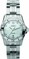 Michel Herbelin Women's Quartz Watch with Mother of Pearl Dial Analogue Display and Silver Stainless Steel Bracelet 14291/89B