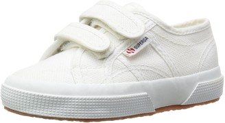Superga Junior 2750 Jvel Canvas Trainer White-901 Gs0003E0 1 UK