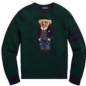 Polo Ralph Lauren Men's Bear Wool-Blend Sweater